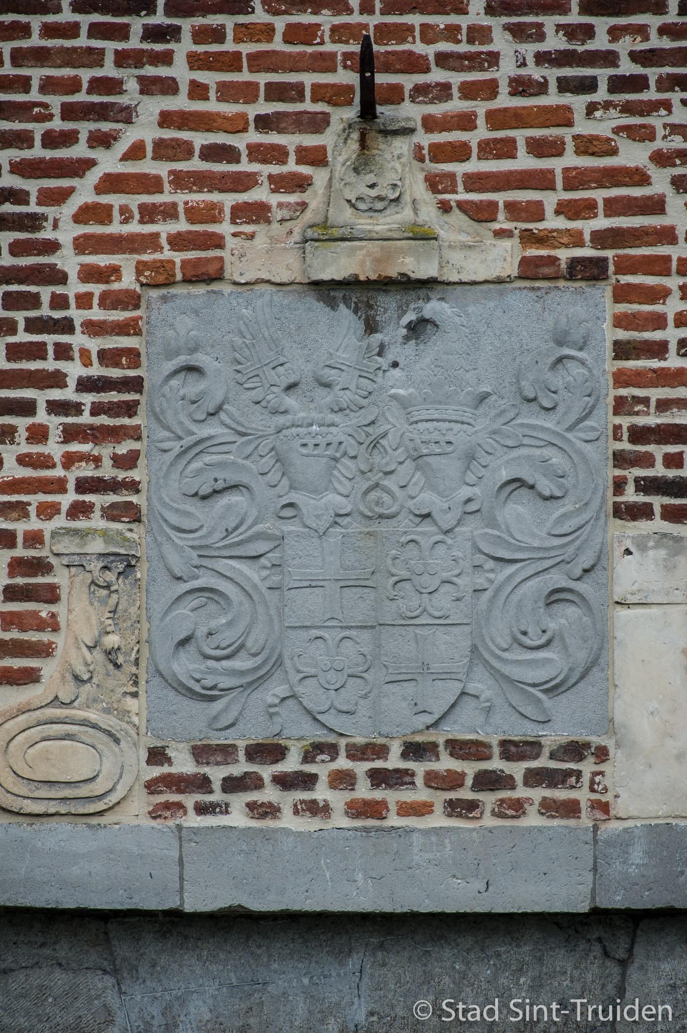 Q:\ftp_fototheek\Danny_Claes\Stad_142 Kasteel Ordingen Gedenksteen boven de poort\Kasteel Ordingen Gedenksteen boven de poort-8535.jpg